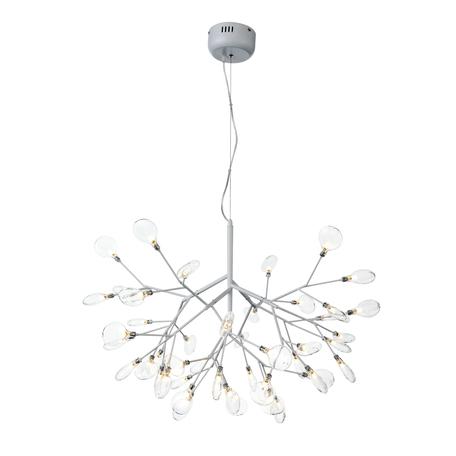 Подвесная люстра ST Luce Riccardo SL411.503.45, 45xG4x1,5W, белый, прозрачный, металл, стекло