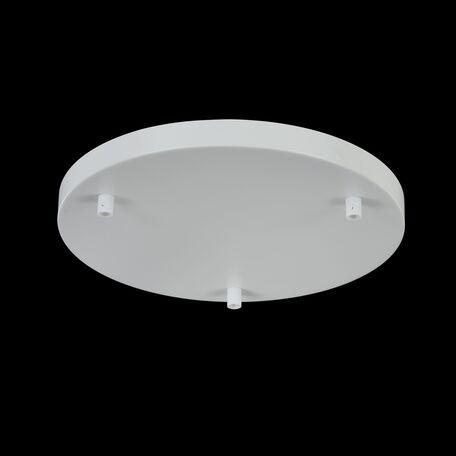 База для подвесного монтажа светильника Maytoni Universal Base SPR-BASE-R-03-W, белый, металл