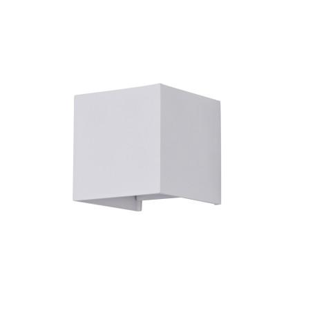 Настенный светодиодный светильник Maytoni Fulton O572WL-L6W, IP54, LED 6W 3000K 400lm CRI80, белый, металл