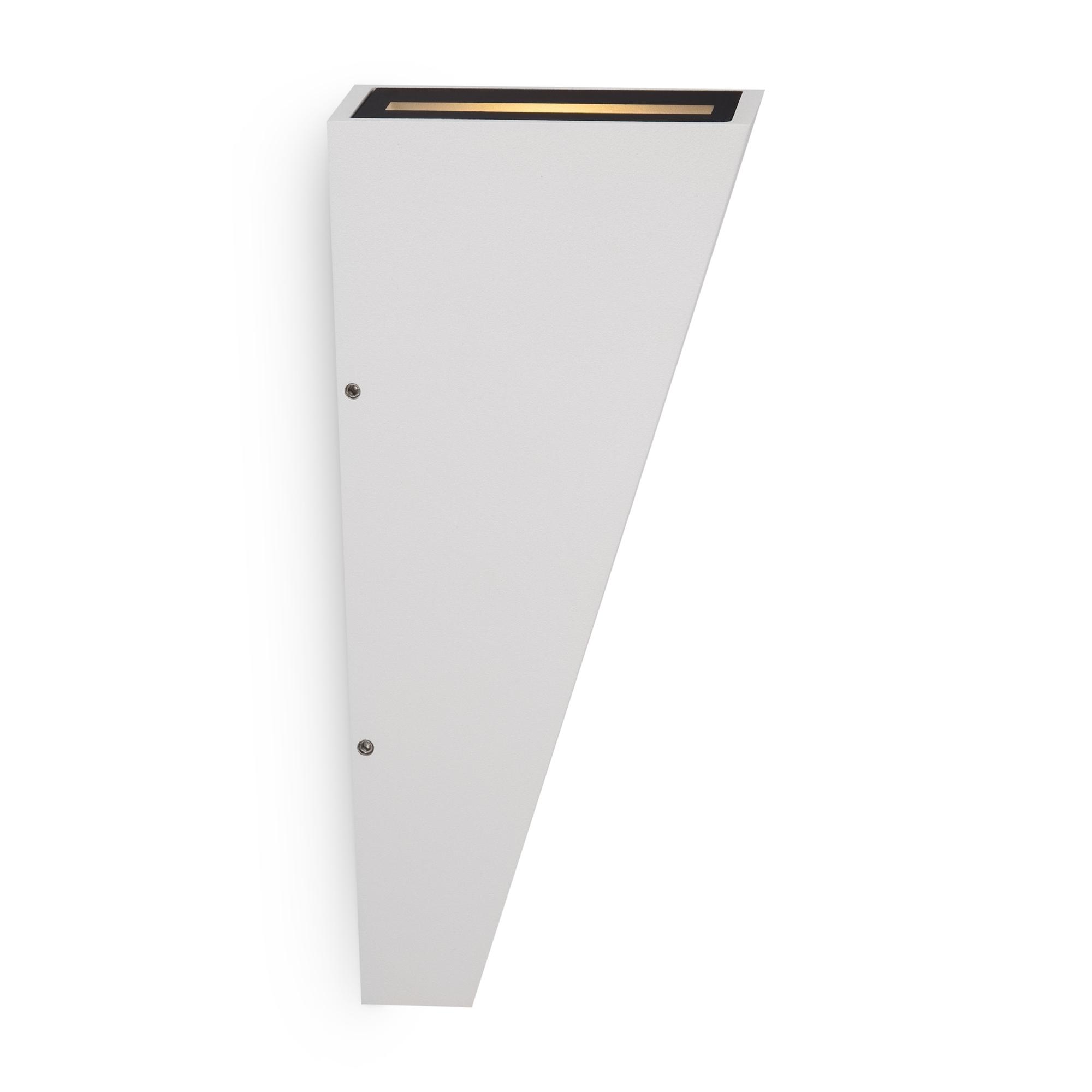 Настенный светодиодный светильник Maytoni Times Square O580WL-L6W, IP54, LED 6W 3000K 380lm CRI80, белый, металл - фото 1