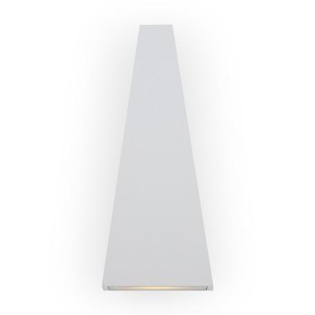 Настенный светодиодный светильник Maytoni Times Square O580WL-L6W, IP54, LED 6W 3000K 380lm CRI80, белый, металл - миниатюра 3