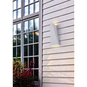 Настенный светодиодный светильник Maytoni Times Square O580WL-L6W, IP54, LED 6W 3000K 380lm CRI80, белый, металл - миниатюра 5