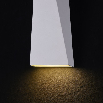 Настенный светодиодный светильник Maytoni Times Square O580WL-L6W, IP54, LED 6W 3000K 380lm CRI80, белый, металл - миниатюра 6