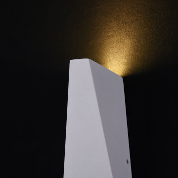 Настенный светодиодный светильник Maytoni Times Square O580WL-L6W, IP54, LED 6W 3000K 380lm CRI80, белый, металл - миниатюра 7