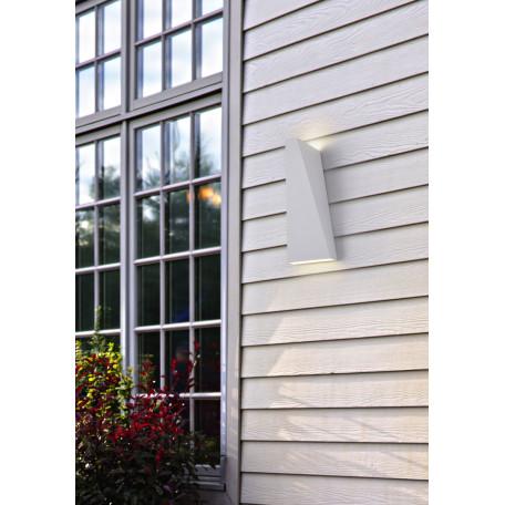 Настенный светодиодный светильник Maytoni Times Square O580WL-L6W, IP54, LED 6W 3000K 380lm CRI80, белый, металл - миниатюра 9