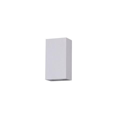 Настенный светодиодный светильник Maytoni Times Square O581WL-L6W, IP54, LED 6W 3000K 480lm CRI80, белый, металл