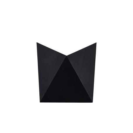Настенный светильник Maytoni Beekman O802WL-L7B, IP54 3000K (теплый), черный, металл, стекло