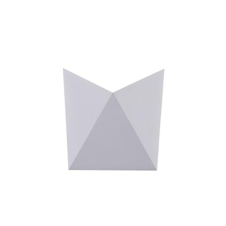 Настенный светодиодный светильник Maytoni Beekman O802WL-L7W, IP54, LED 8W 3000K 640lm CRI80, белый, металл