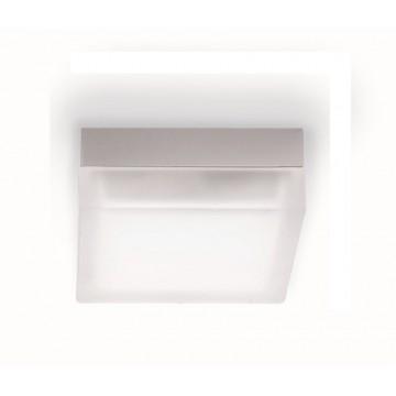 Потолочный светильник Ideal Lux IRIS PL1 D19 104539 SALE, 1xGX53x15W, хром, белый, металл, стекло