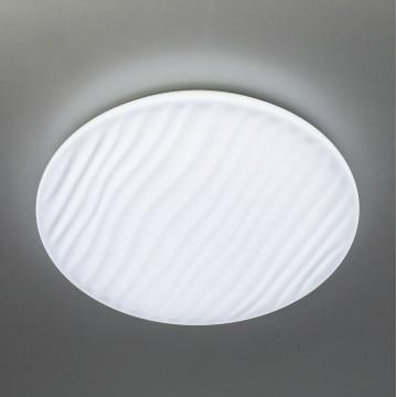 Потолочный светодиодный светильник с пультом ДУ Citilux Дюна LED CL72040RC, IP43, LED 40W 3000-4500K + RGB 2600lm, белый, металл, пластик - миниатюра 4