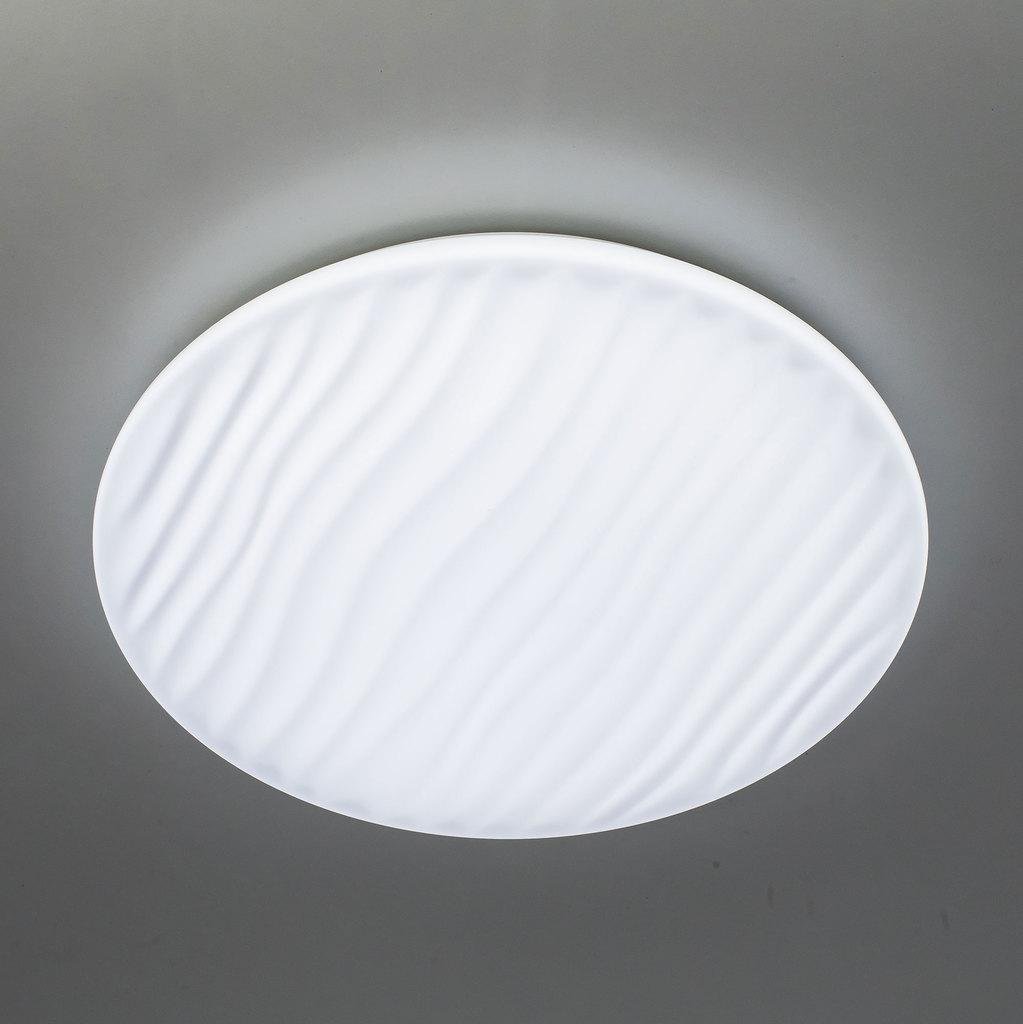 Потолочный светодиодный светильник с пультом ДУ Citilux Дюна LED CL72040RC, IP43, LED 40W 3000-4500K + RGB 2600lm, белый, металл, пластик - фото 4