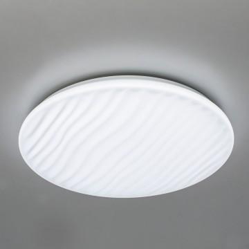 Потолочный светодиодный светильник с пультом ДУ Citilux Дюна LED CL72040RC, IP43, LED 40W 3000-4500K + RGB 2600lm, белый, металл, пластик - миниатюра 5
