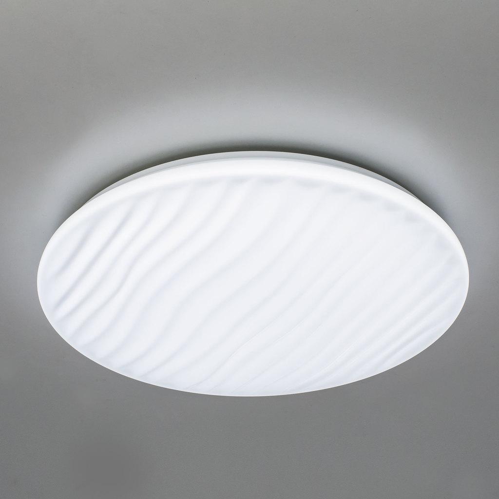 Потолочный светодиодный светильник с пультом ДУ Citilux Дюна LED CL72040RC, IP43, LED 40W 3000-4500K + RGB 2600lm, белый, металл, пластик - фото 5