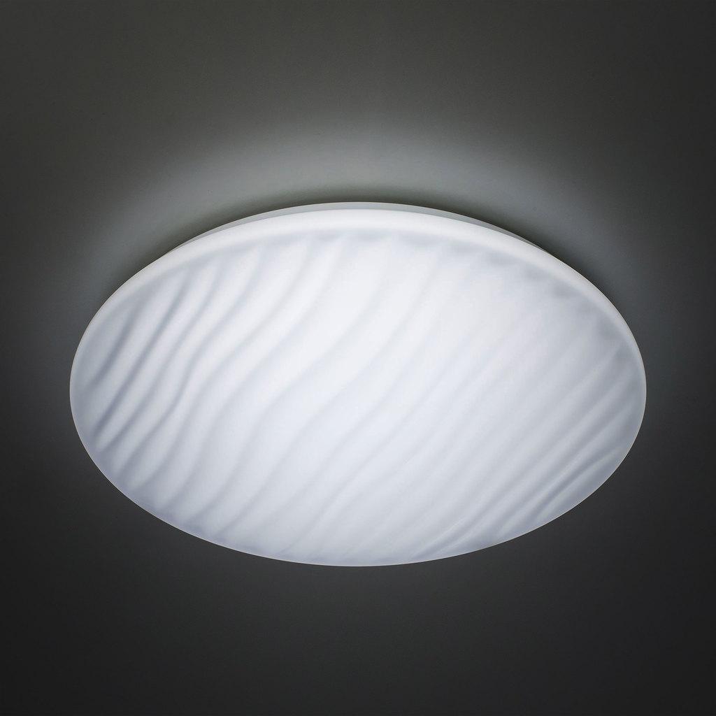 Потолочный светодиодный светильник с пультом ДУ Citilux Дюна LED CL72040RC, IP43, LED 40W 3000-4500K + RGB 2600lm, белый, металл, пластик - фото 6