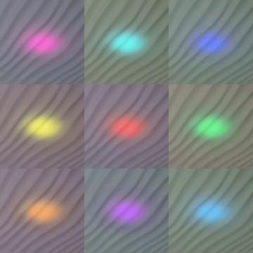 Потолочный светодиодный светильник с пультом ДУ Citilux Дюна LED CL72040RC, IP43, LED 40W 3000-4500K + RGB 2600lm, белый, металл, пластик - миниатюра 8