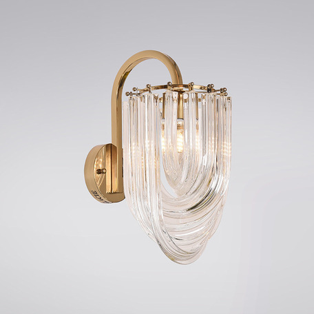 Бра L'Arte Luce Luxury Murano L35021, 1xE14x40W, металл, стекло