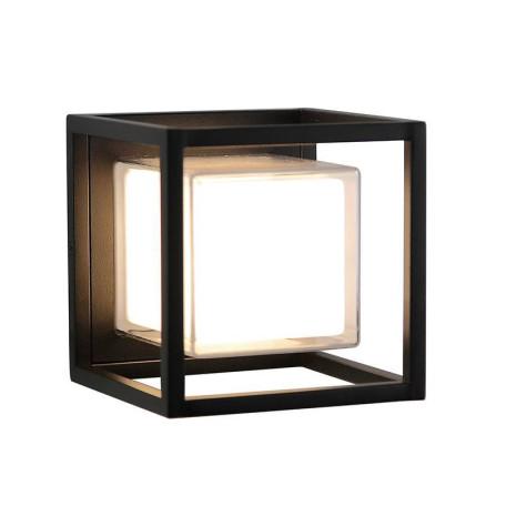 Настенный светодиодный светильник L'Arte Luce Aris L77681.31, IP44, LED 9,6W 4000K 660lm, металл, пластик