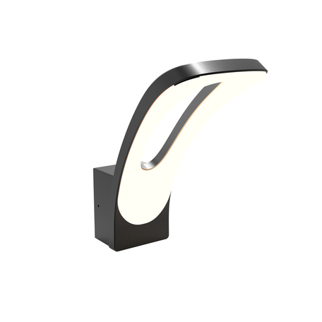 Настенный светодиодный светильник L'Arte Luce Cardiff L77981.11, IP54, LED 6W 3000K 240lm, металл, пластик