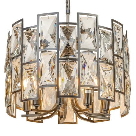 Подвесная люстра L'Arte Luce Luxury Delio L34509, 9xE14x40W, металл, хрусталь