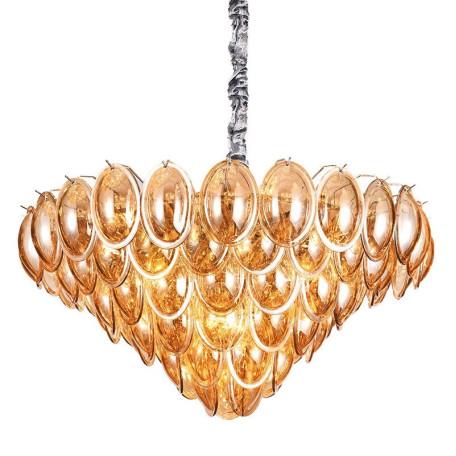 Подвесная люстра L'Arte Luce Luxury Liscia L34600, 22xE14x40W, металл, стекло