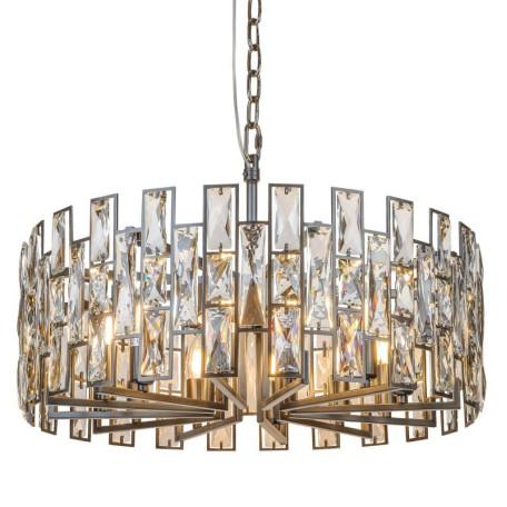 Подвесная люстра L'Arte Luce Luxury Mincho L34712, 12xE14x40W, металл, хрусталь
