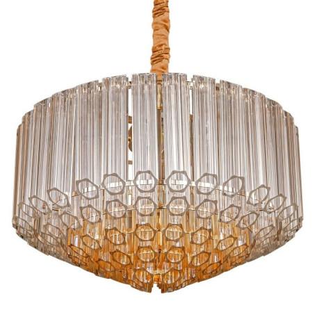 Подвесная люстра L'Arte Luce Luxury Retro Murano L34812, 12xE14x40W, металл, стекло