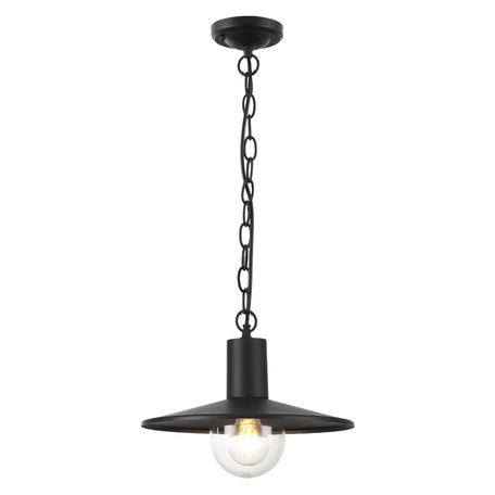 Подвесной светильник Odeon Light Furcadia 4833/1, IP44, 1xE27x40W, черный, металл, металл с пластиком