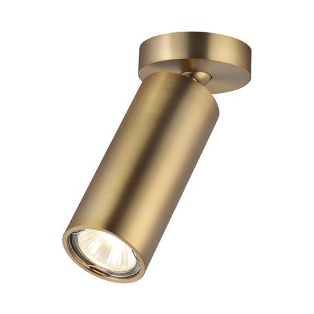Потолочный светильник с регулировкой направления света Odeon Light Nino 4279/1C, 1xGU10x50W, матовое золото, металл