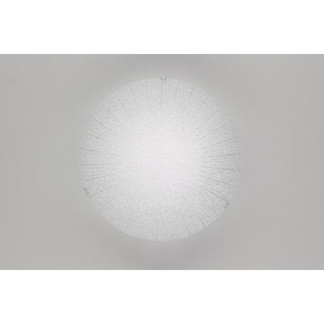 Потолочный светодиодный светильник Citilux Лучи CL917002, LED 8W, 3000K (теплый), хром, металл, стекло