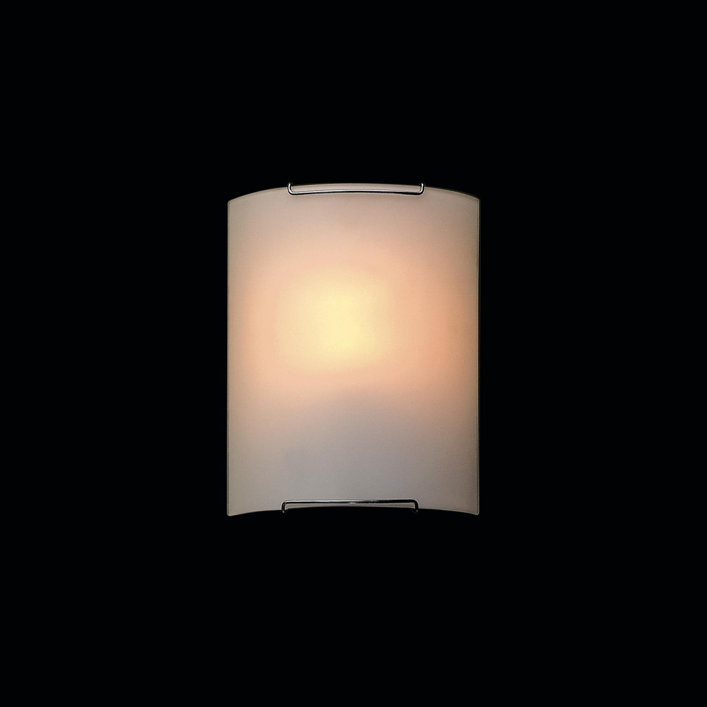 Настенный светильник Citilux Лайн CL921000, 1xE27x100W, хром, белый, металл, стекло - фото 2
