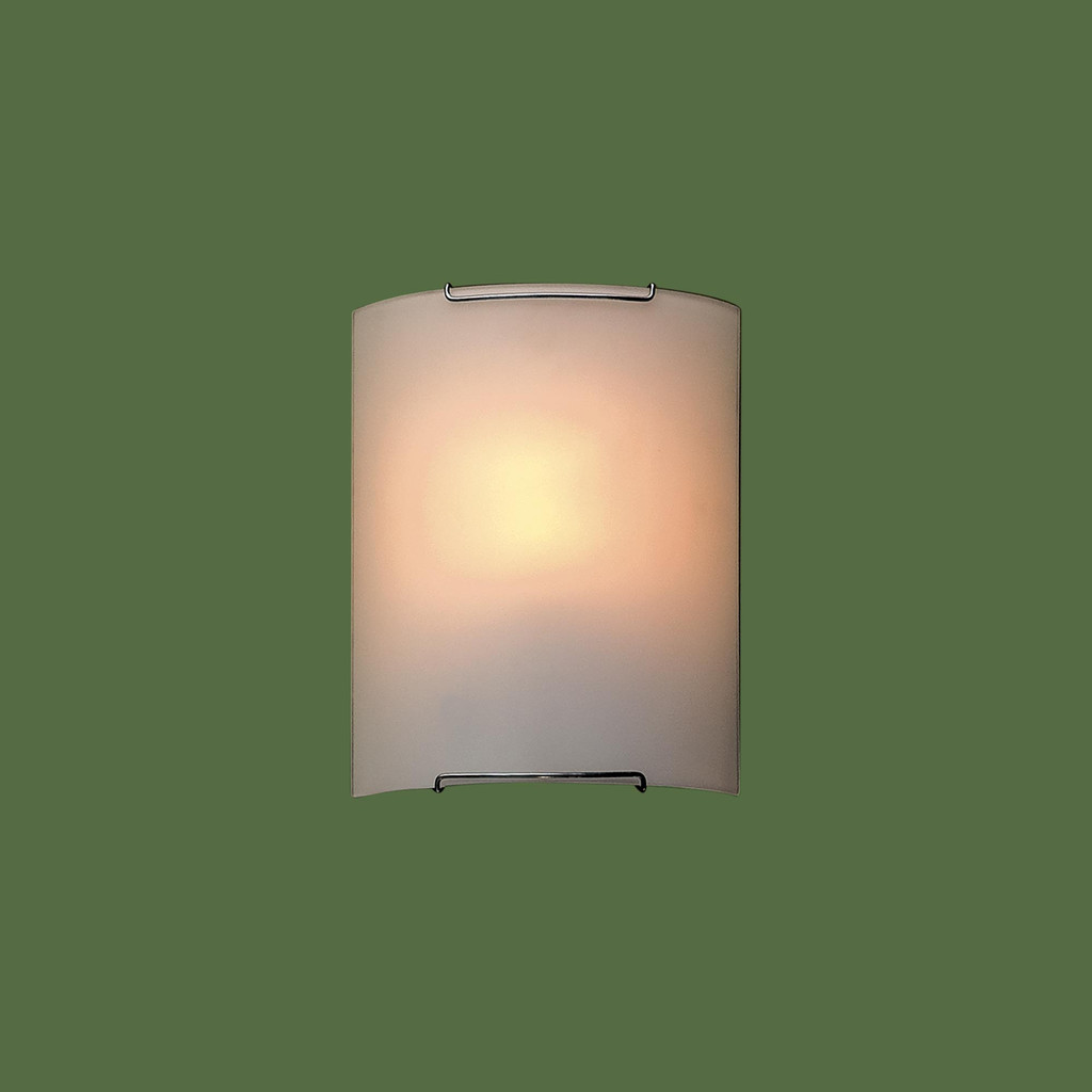 Настенный светильник Citilux Лайн CL921000, 1xE27x100W, хром, белый, металл, стекло - фото 3