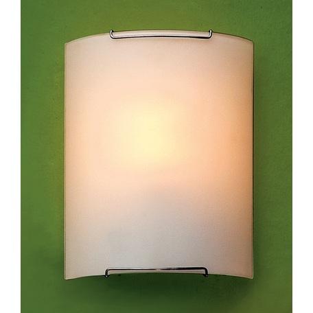 Настенный светильник Citilux Лайн CL921000W, 1xE27x100W, хром, белый, металл, стекло