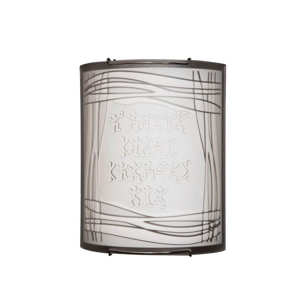 Настенный светильник Citilux Шерлок CL921022, 1xE27x100W, хром, белый, металл, стекло - фото 1