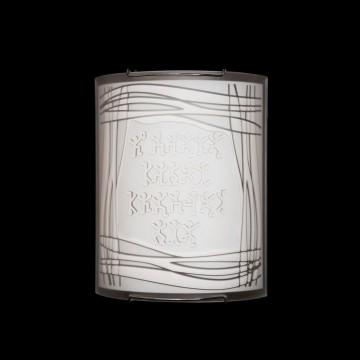 Настенный светильник Citilux Шерлок CL921022, 1xE27x100W, хром, белый, металл, стекло - миниатюра 2