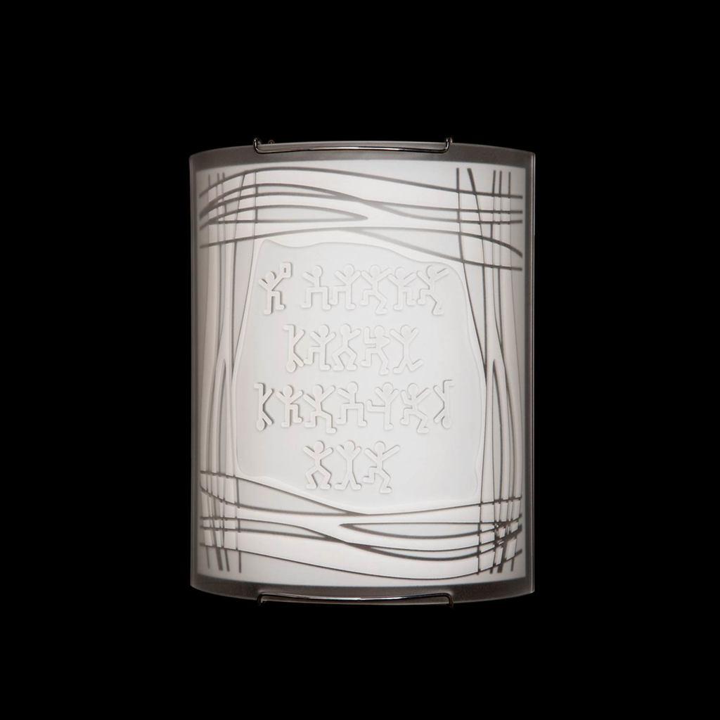 Настенный светильник Citilux Шерлок CL921022, 1xE27x100W, хром, белый, металл, стекло - фото 2