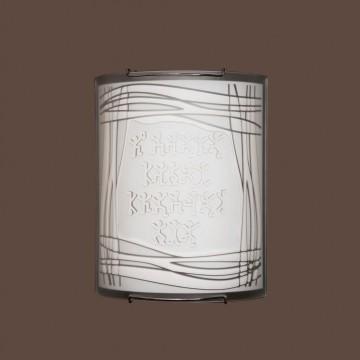 Настенный светильник Citilux Шерлок CL921022, 1xE27x100W, хром, белый, металл, стекло - миниатюра 3