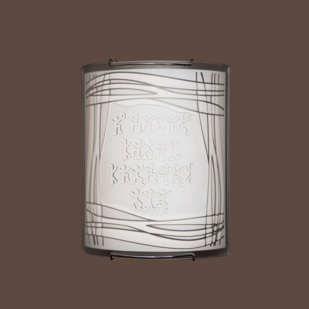 Настенный светильник Citilux Шерлок CL921022, 1xE27x100W, хром, белый, металл, стекло - фото 3