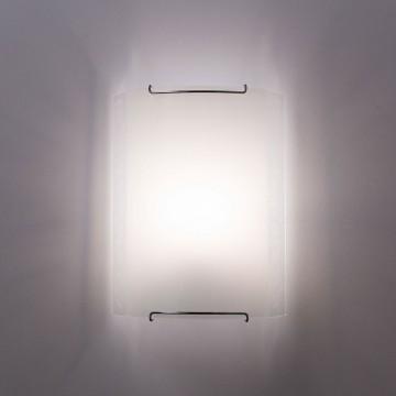 Настенный светильник Citilux Узор CL921024, 1xE27x100W, хром, белый, металл, стекло - миниатюра 2