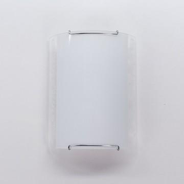 Настенный светильник Citilux Узор CL921024, 1xE27x100W, хром, белый, металл, стекло - миниатюра 6