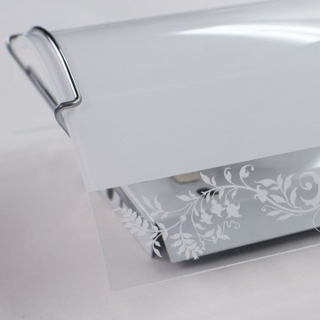 Настенный светильник Citilux Узор CL921024, 1xE27x100W, хром, белый, металл, стекло - миниатюра 7