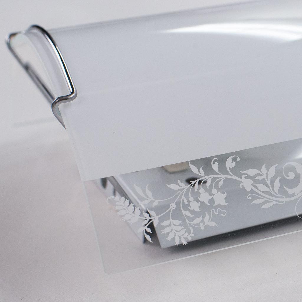 Настенный светильник Citilux Узор CL921024, 1xE27x100W, хром, белый, металл, стекло - фото 7