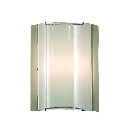 Настенный светильник Citilux Лайн CL921081, 1xE27x100W, хром, белый, металл, стекло