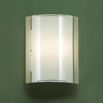 Настенный светильник Citilux Лайн CL921081, 1xE27x100W, хром, белый, металл, стекло - миниатюра 3