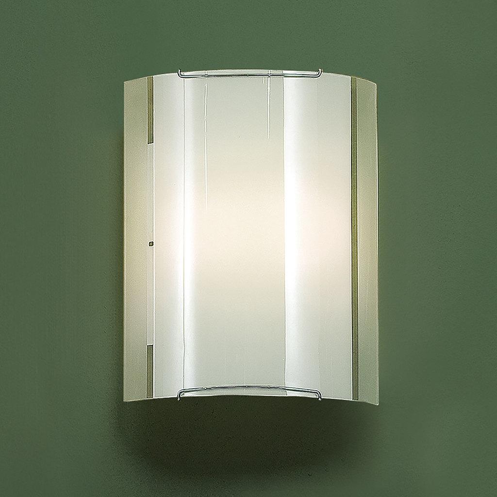 Настенный светильник Citilux Лайн CL921081, 1xE27x100W, хром, белый, металл, стекло - фото 3