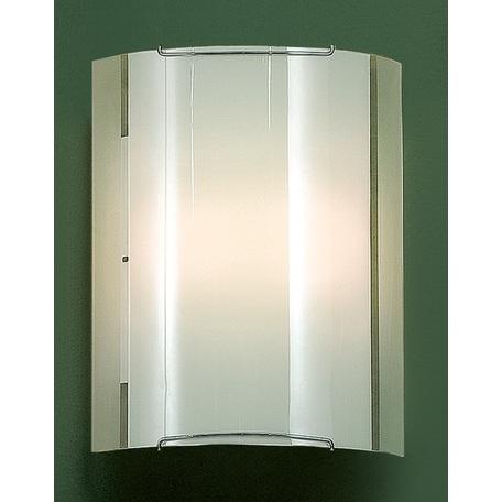 Настенный светильник Citilux Лайн CL921081W, 1xE27x100W, хром, белый, металл, стекло