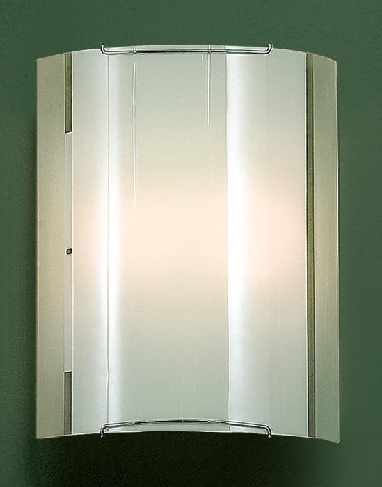 Настенный светильник Citilux Лайн CL921081W, 1xE27x100W, хром, белый, металл, стекло - фото 1