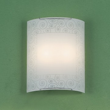 Настенный светильник Citilux Спирали CL922012, 2xE27x100W, хром, белый, металл, стекло - миниатюра 3