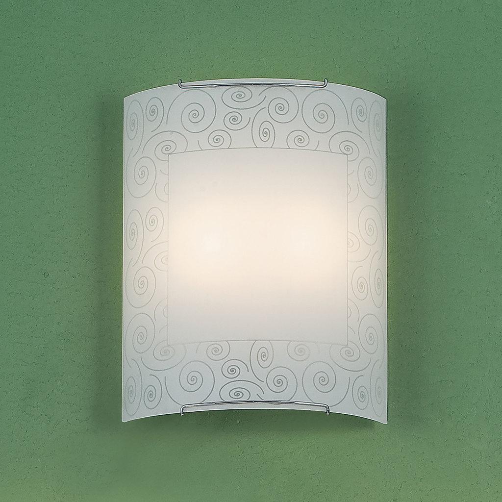 Настенный светильник Citilux Спирали CL922012, 2xE27x100W, хром, белый, металл, стекло - фото 3