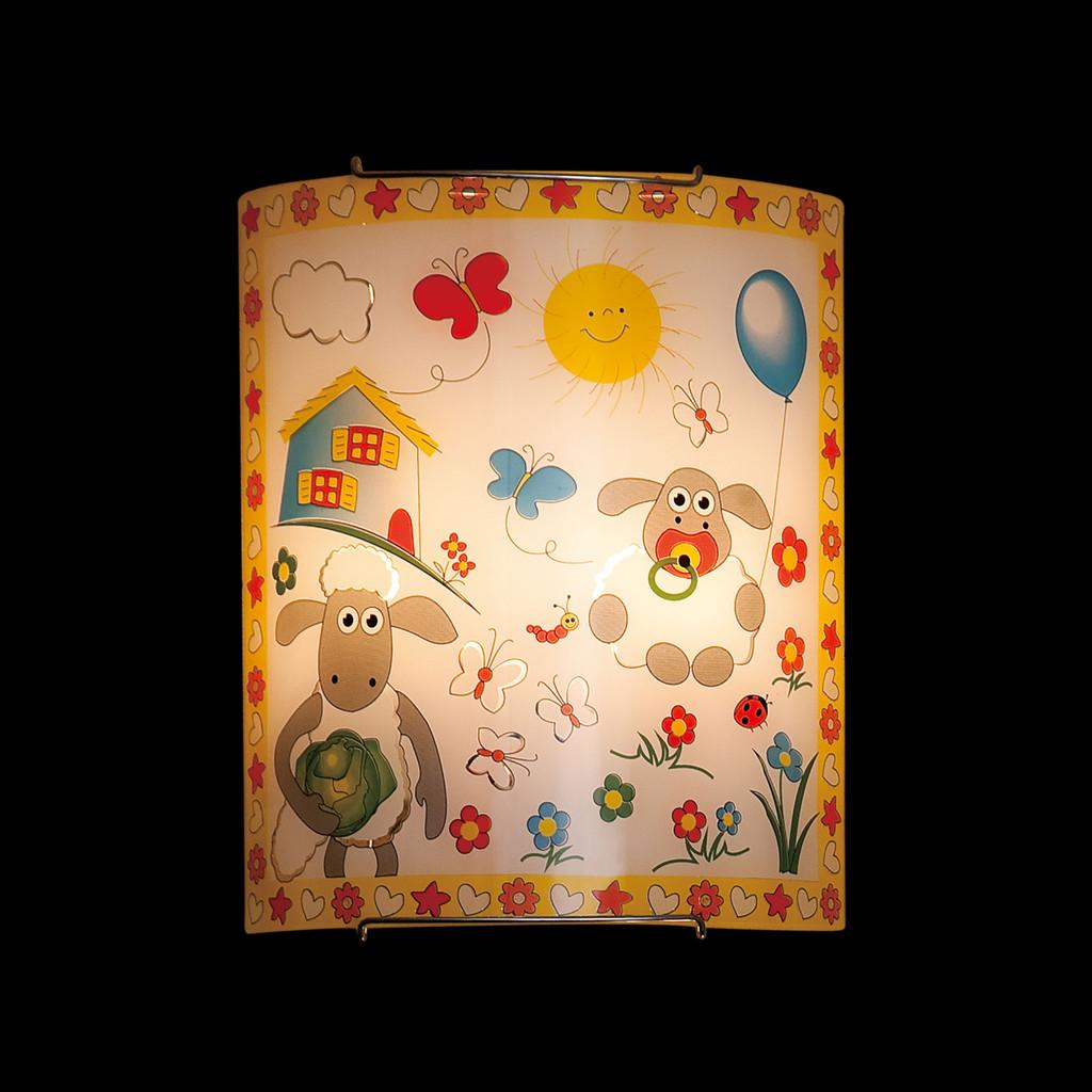 Настенный светильник Citilux Барашки CL922016, 2xE27x100W, хром, разноцветный, металл, стекло - фото 2