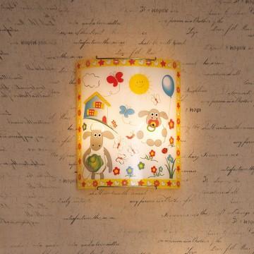 Настенный светильник Citilux Барашки CL922016, 2xE27x100W, хром, разноцветный, металл, стекло - миниатюра 3